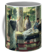 Catullus Reading His Poems Coffee Mug by Sir Lawrence Alma-Tadema