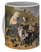 Emigrants To West, 19th C Coffee Mug by Granger