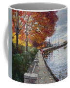 Fall In Port Credit On Coffee Mug by Ylli Haruni