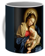 Madonna And Child Coffee Mug by Il Sassoferrato