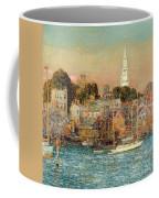October Sundown Coffee Mug by Childe Hassam