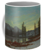 Snow In The Rockies Coffee Mug by Albert Bierstadt