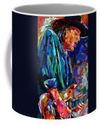 Stevie Ray Vaughan Coffee Mug by Debra Hurd