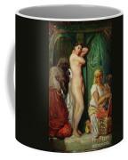 The Bath In The Harem Coffee Mug by Theodore Chasseriau