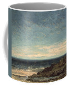 The Sea Coffee Mug by Gustave Courbet
