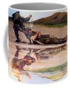 Wings Of Hope Coffee Mug by Todd Krasovetz
