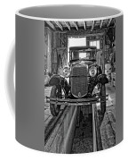 1930 Model T Ford Monochrome Coffee Mug by Steve Harrington