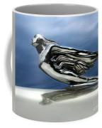 1941 Cadillac Emblem Abstract Coffee Mug by Peter Piatt