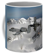 A-10 Thunderbolt IIs Fly Coffee Mug by Stocktrek Images