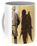 Angel Waiting Coffee Mug by Todd Krasovetz