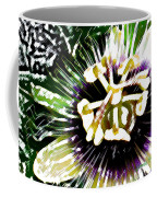 Passion Flower Coffee Mug by James Temple