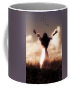 Angel Coffee Mug by Joana Kruse