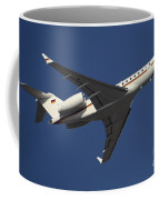 A Bombardier Global 5000 Vip Jet Coffee Mug by Timm Ziegenthaler