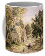 A Farmyard Near Princes Risborough Coffee Mug by Samuel Palmer