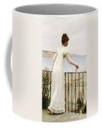 A Favour Coffee Mug by Edmund Blair Leighton