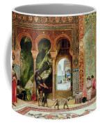A Royal Palace In Morocco Coffee Mug by Benjamin Jean Joseph Constant