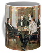 A Showdown Coffee Mug by Albert Beck Wenzell