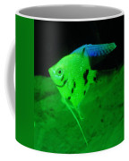 A Yellow Fish  Coffee Mug by Jeff Swan