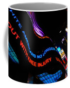Abc News Scrolling Marquee In Times Square New York City Coffee Mug by Amy Cicconi