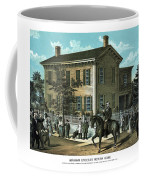 Abraham Lincoln's Return Home Coffee Mug by War Is Hell Store