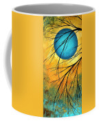 Abstract Landscape Art Passing Beauty 1 Of 5 Coffee Mug by Megan Duncanson