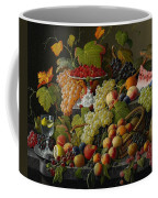 Abundant Fruit Coffee Mug by Severin Roesen