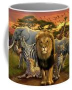 African Beasts Coffee Mug by Andrew Farley