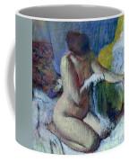 After The Bath Coffee Mug by Edgar Degas