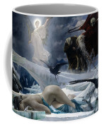Ahasuerus At The End Of The World Coffee Mug by Adolph Hiremy Hirschl