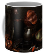 Allegory Of The Four Elements Coffee Mug by Cornelis Jacobsz Delff