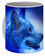 Alpha Wolf Coffee Mug by Mal Bray