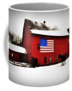 American Barn Coffee Mug by Bill Cannon