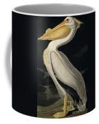American White Pelican Coffee Mug by John James Audubon