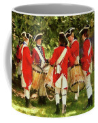 Americana - People - Preparing For Battle Coffee Mug by Mike Savad