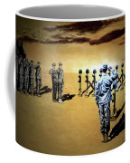 Angels Of The Sand Coffee Mug by Todd Krasovetz