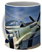 Angels Playmate P-51 Coffee Mug by Steven Richardson