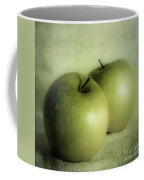 Apple Painting Coffee Mug by Priska Wettstein