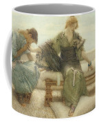 Ask Me No More....for At A Touch I Yield Coffee Mug by Sir Lawrence Alma-Tadema