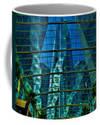 Atrium Gm Building Detroit Coffee Mug by Chris Lord