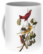 Audubon: Tanager Coffee Mug by Granger