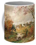 Autumn Landscape Coffee Mug by Jasper Francis Cropsey