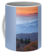 Autumn Sunset On The Parkway Coffee Mug by Rob Travis
