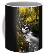 Autumn Swirl Coffee Mug by Mike  Dawson