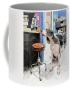 Back Office Coffee Mug by Debra Jones