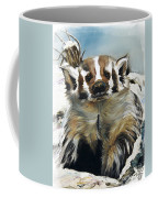 Badger - Guardian Of The South Coffee Mug by J W Baker
