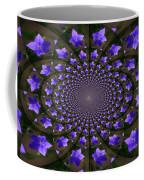 Balloon Flower Kaleidoscope Coffee Mug by Teresa Mucha