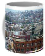 Baltimore Rooftops Coffee Mug by Carol Groenen