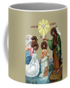 Baptism Coffee Mug by Munir Alawi