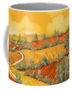 Bassa Toscana Coffee Mug by Guido Borelli