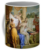 Bathsheba Bathing Coffee Mug by Sebastiano Ricci